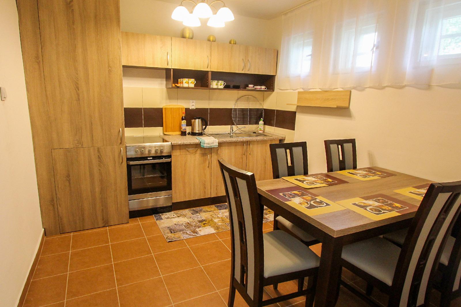 Chata Biela Stopa - Kuchyňa