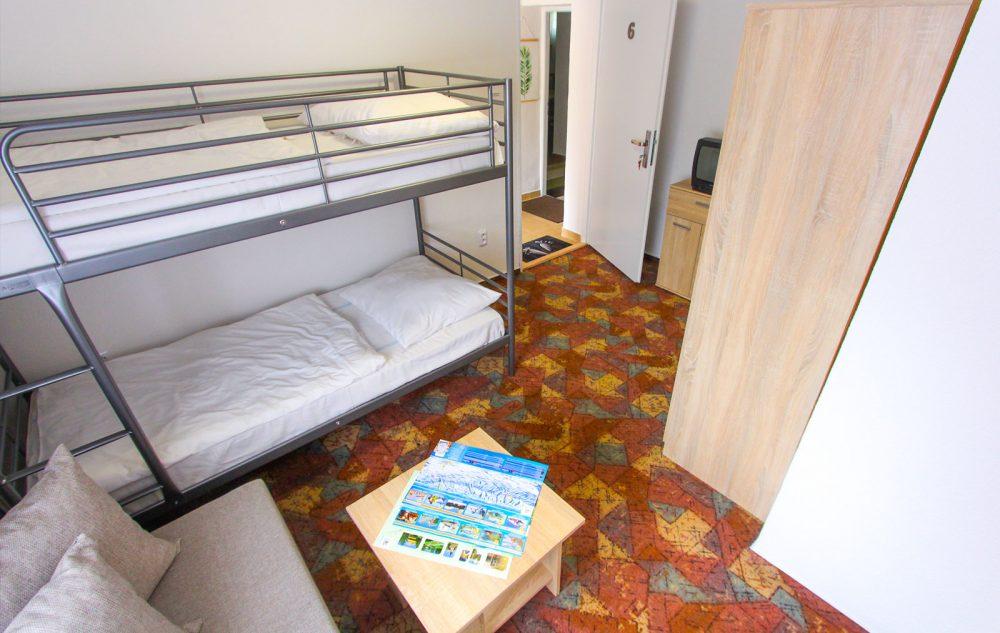 Dvojlôžková izba s prístelkou
